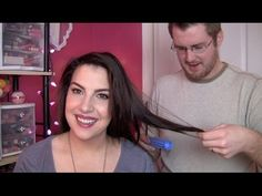 My Husband Does My Hair!