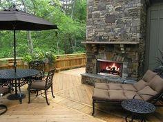 Heat & Glo Montana Outdoor Wood Fireplace