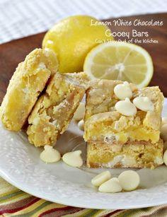 Lemon White Chocolate Gooey Bars | One of the best lemon desserts. This dessert bar recipe is perfect for potlucks, bake sales, and even Easter brunch!