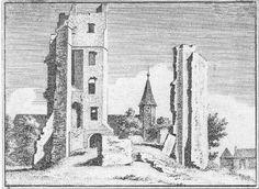 Huis te Kleef bij Haarlem (1740). Uit Verheerlijkt Nederland, H. Spilman en C.Pronk.