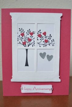 9th Anniversary Card by WausauSue - Cards and Paper Crafts at Splitcoaststampers