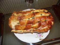 Plnený zapečený chlebík