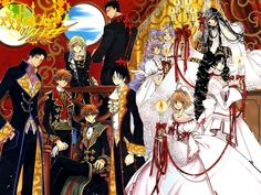 tsubasa & xxxholic, DUDE best books EVER!!! If u would like I swear I will name all those characters and the rest in all 30+ books!