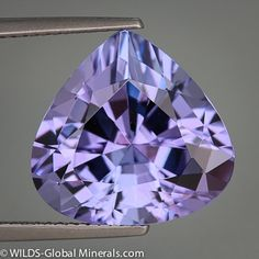 Items similar to Lilac Lavender Natural Tanzanite 11 carat Pear on Etsy Minerals And Gemstones, Crystals Minerals, Rocks And Minerals, Stones And Crystals, Loose Gemstones, Gem Stones, Bijoux Tanzanite, Rocks And Gems, Gemstone Jewelry