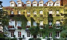 Le Pavillion de la Reine, residencia de Ana de Austria, es ahora un hotel de 3 estrellas en el corazón de París.