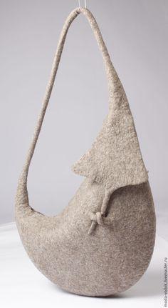 Купить Сумка женская ручной работы - серый, сумка, сумка женская, сумка для женщин