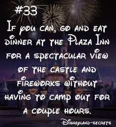 Disneyland Tips 2019 - Disneyland-Secret If you can, go and eat dinner at the Plaza Inn for a spec. Disneyland Paris, Disneyland World, Disneyland Secrets, Disneyland Vacation, Disneyland California, Disney World Vacation, Disney Vacations, Disney Travel, Family Vacations