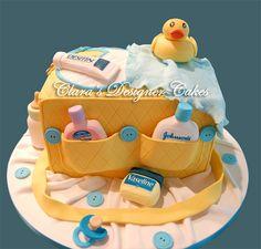Baby Shower Cake by Designer Cakes, via Flickr
