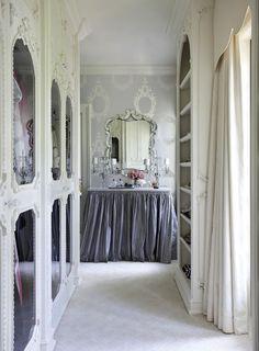 Very elegant and simple space...keep kiddos away!