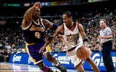 Allen Iverson, talento rebelde. Conoce la figura de uno de los mejores bases de la NBA que enamoró a Philadelphia. Pura magia con 1,83