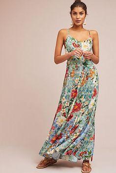 Farm Rio Hibiscus Maxi Dress