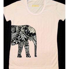 Camiseta Elefante Lateral