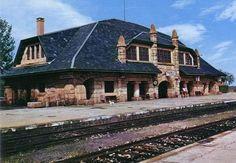 train station, Puebla de Sanabria (Zamora), spain