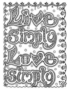 BLISS Coloring Book of Inspirational Art for you by ChubbyMermaid