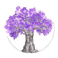 Ink Test Tree: Iroshizuku ~ Murasaki-shikibu