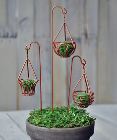 Loving this Hanging Basket Garden Décor Set on #zulily! #zulilyfinds