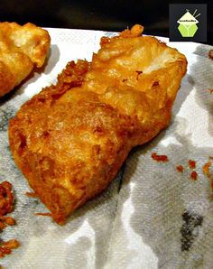 The BEST EVER Beer Battered Fish and Chips! Great flavours and don't forget your shake of vinegar and sprinkle of salt! The BEST EVER Beer Battered Fish and Chips! Great flavours and don't forget your shake of vinegar and sprinkle of salt! Fried Fish Recipes, Seafood Recipes, Cooking Recipes, Fried Haddock Recipes, Best Fried Fish Recipe, Walleye Fish Recipes, Cod Recipes, Cooking Fish, Camping Cooking