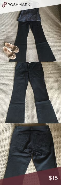 CAbi size 4 black denim jeans 99 cotton 1 spandex black jeans a great staple piece. Here I have paired it with a couple of vintage CAbi pieces like the coin necklace CAbi Jeans