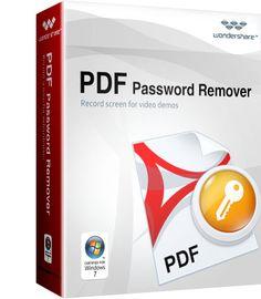 Wondershare PDF password remover Full License Key