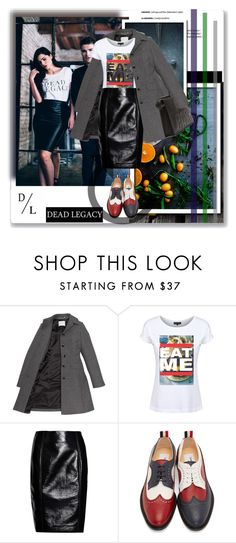 """""""Untitled #1073"""" by dzas-jasmina ❤ liked on Polyvore featuring Jonathan Saunders, Thom Browne, 3.1 Phillip Lim, Dead Legacy and deadlegacy"""