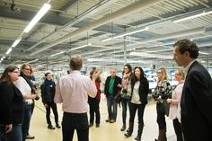 Auping Fabrik in Deventer #AupingBloggerDE2014