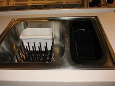 Dish and utensil drip dry basket by Ikea