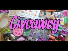 YouTube bellissimo giveaway di Chiary Art