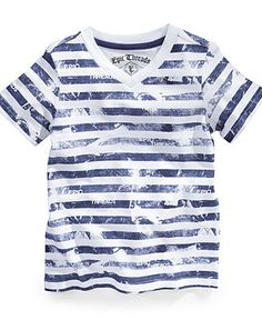 Epic Threads Kids T-Shirt, Little Boys Stripe Tee - Kids Boys 2-7 - Macy's