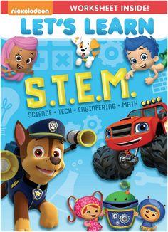 DVD Nickelodeon Let's Learn STEM 5/18