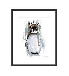 Lovely from Norwegian artist Elise Stalder Penguin Art, Wild Nature, Illustrations And Posters, Photo Art, Moose Art, Illustration Art, Art Prints, Wall Art, Disney Characters