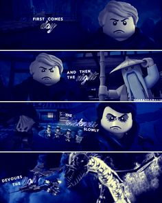 """⚫#LEGO #Ninjago #LloydGarmadon #SenseiWu #Morro #masterofenergy #masterofcreation #masterofwind #GreenNinja #EvilGreenNinja #PossessedGreenNinja ⚫#NinjagoPossession #Possession #NinjagoSeason5 #Season5 ⚫[ """"First comes day and then the night. The darkness slowly devours the light."""" ] #quote ⚫My edit. I really hope you'll like it. Don't forget to give me credit, if you repost. Credit is not necessary but very appreciated. :-)"""
