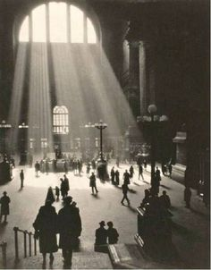 Dr. S. J. Ruzicka - Penn Station, New York, 1929