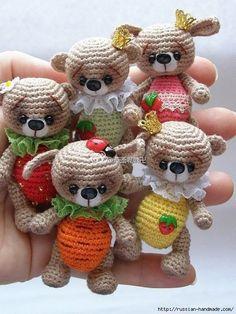 Забавные малютки амигуруми (Вязание крючком) | Журнал Вдохновение Рукодельницы
