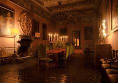 Castello Ruspoli. Piano Nobile.