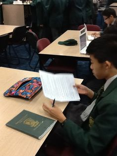 Homework is also part of the activities that happen in the Learning Centre
