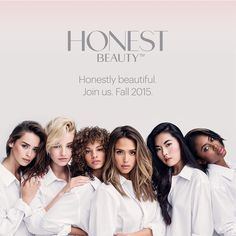 Jessica Alba's The Honest Company is going into the cosmetics business with, Honest Beauty, a new line of skin care and makeup products. Group Photography Poses, Group Photo Poses, Beauty Balm, Hair Beauty, Jessica Alba Honest Company, Victoria Secret, Head Band, Beauty Shoot, How To Pose
