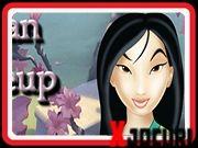 Mulan make up Disney Characters, Fictional Characters, Disney Princess, Fantasy Characters, Disney Princesses, Disney Princes