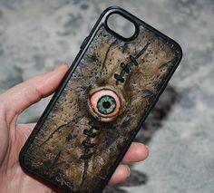 Horror Zombie Custom phone case Taxidermy Anatomy Horror Gift Undead Necronomicon Zombie eyes Horror phone case Creepy phone case Mutation by FamilySkinersStyle to Etsy