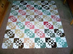 May 11 - Today's Featured Quilts - 24 Blocks