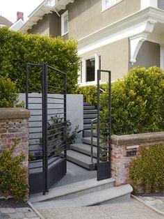 Modern gate. SURFACEDESIGN, INC. » PIERCE STREET