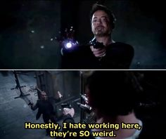 Probably the best part of Iron Man 3, next to RDJ's face of course. And HIS one liners....but still, a close third ;)