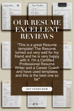 let our customers say what our resume template does! With a lot of FREE! Planners and Ebooks #nurse resume