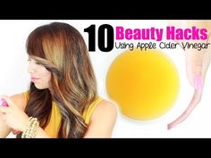 10 Apple Cider Vinegar Beauty Uses - YouTube