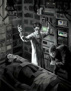 Doctor Frankenstein | Mad Scientist | Jeff Porter Art & Illustration