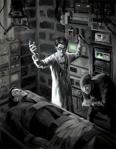 Doctor Frankenstein   Mad Scientist   Jeff Porter Art & Illustration