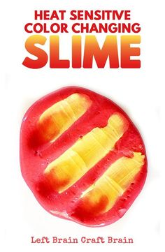 Make this awesome color changing slime that changes color with temperature! Thermochromic slime makes STEM learning fun.
