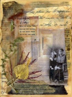 beeswax encaustic collage | hope you enjoyedthis beginning journey into encaustics. There is so ...