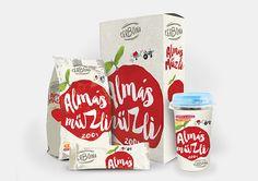 Cereal packaging colorful illustrative design Cereal Packaging, Concept, Coffee, Drinks, Colorful, Drawing, Logo, Design, Kaffee