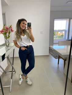 Jean Outfits, Cute Outfits, Look Jean, Scandi Style, Teacher Outfits, Look Cool, Ideias Fashion, Personal Style, Style Inspiration