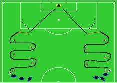 Imagen relacionada Soccer Shooting Drills, Soccer Drills, Soccer Coaching, Soccer Training, Kids Soccer, Football Soccer, Soccer Ball, Hockey, Train Activities